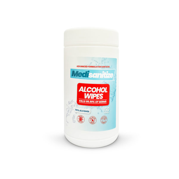 Medisanitize 70% Alcohol Hard Surface Wipes