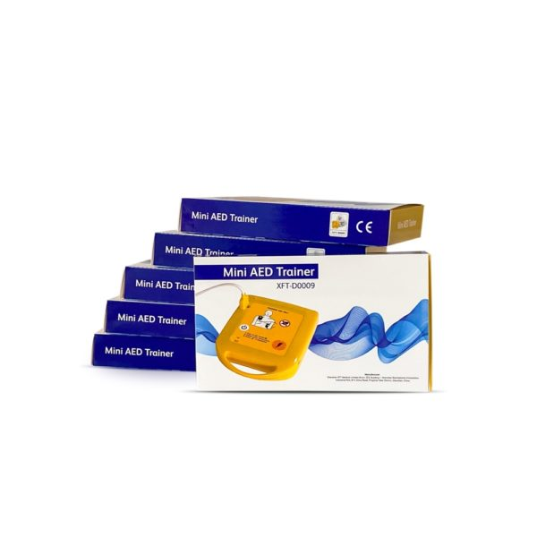 Mini AED Trainer XFT-D0009 pack of 6 1