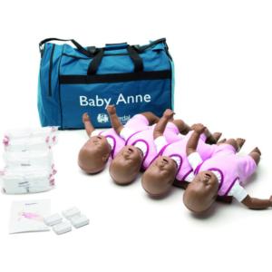 Laerdal Baby Anne Manikin (Dark Skin) 4 Pack
