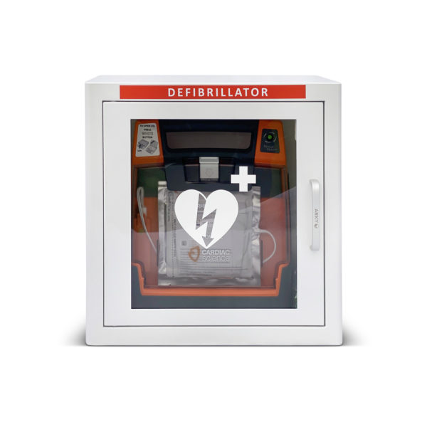 Cardiac Science Powerheart G3 Elite Fully Automatic Defibrillator Indoor Package Inside