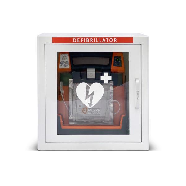 Cardiac Science Powerheart G3 Elite Fully Automatic Defibrillator Indoor Package Inside