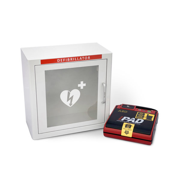 I-PAD SAVER NF1201 Fully-Automatic Defibrillator Package Aside