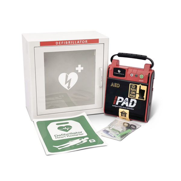 I-PAD SAVER NF1201 Fully-Automatic Defibrillator Package