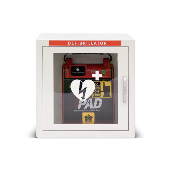 I-PAD SAVER NF1201 Fully-Automatic Defibrillator Package Inside