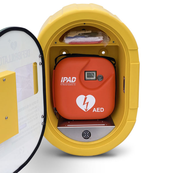 iPAD SP1 Fully-Automatic Defibrillator Outdoor Package Inside
