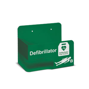 Universal AED Wall Bracket Green