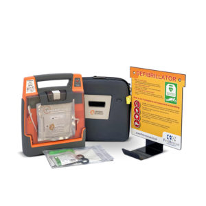 Cardiac Science Powerheart G3 Elite Fully Auto Defibrillator with Carry Case & Wall Hanger Package