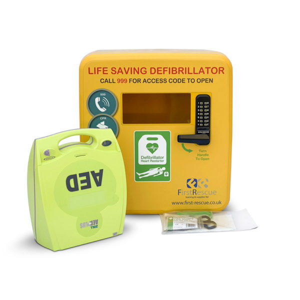 ZOLL AED Plus Fully-Auto & Defibstore 4000 AED Package Deal