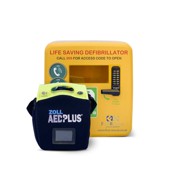 ZOLL AED Plus Fully-Auto & Defibstore 4000 AED Package Deal 1