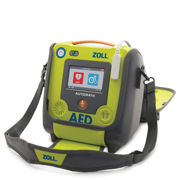 ZOLL AED 3 Carry Case open