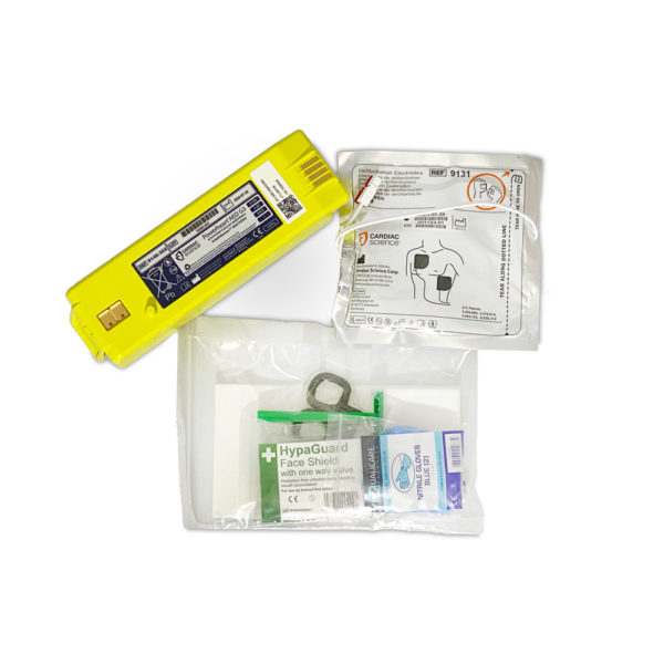 Cardiac Science G3 AED Battery and Adult G3 AED Pads Bundle