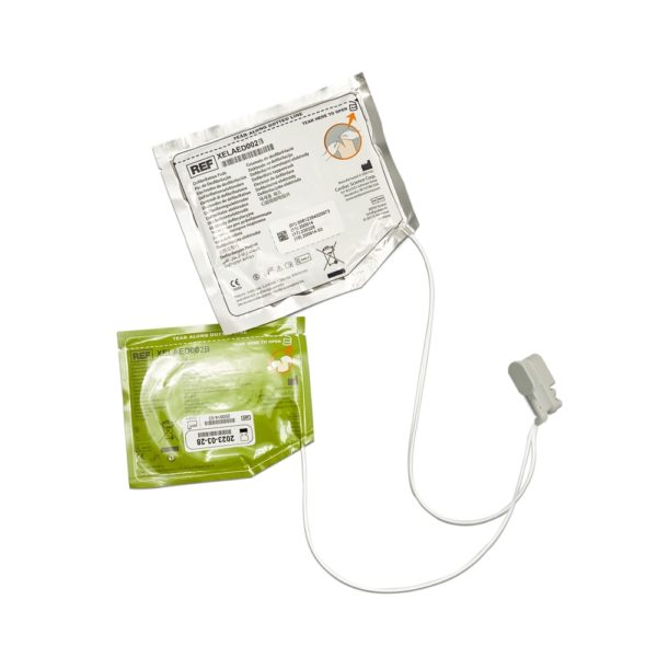Powerheart G5 Adult Defibrillator Pads with CPR device