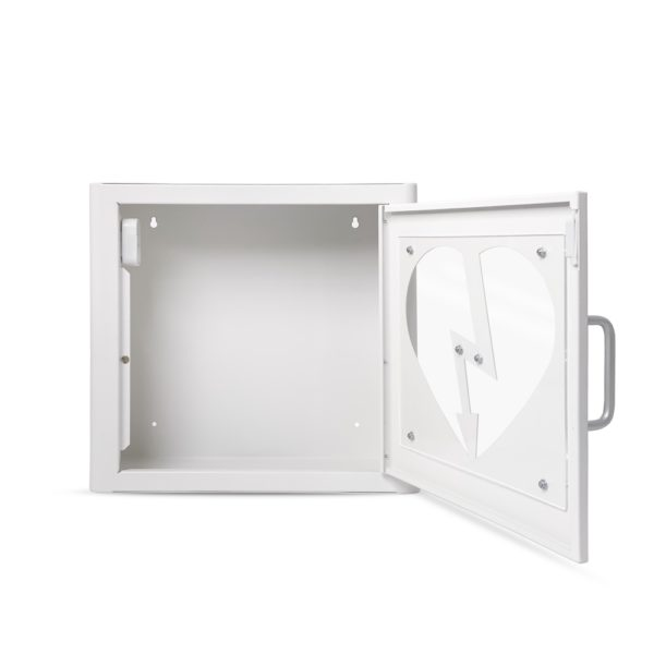 AED Protect Indoor White Cabinet with Alarm 7